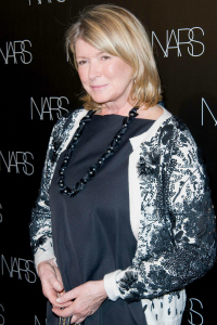 Martha Stewart at a Nars Launch
