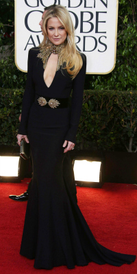 Kate Hudson at the 70th Annual Golden Globe Awards