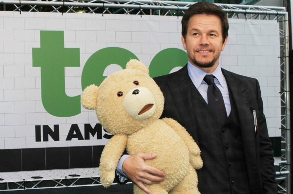 Mark Wahlberg at the Premiere of Ted