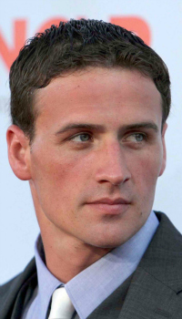 Ryan Lochte at the NCLR Alma Awards