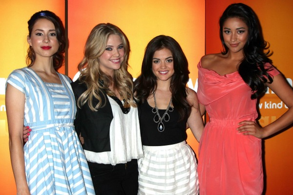 Pretty Little Liars Cast at an ABC Family Event