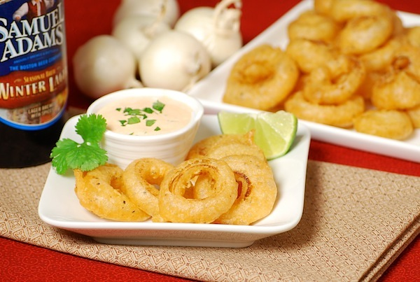 mini buffalo onion rings
