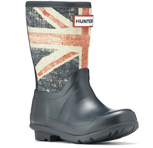 Union Jack rainboots