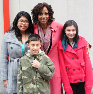 Holly Robinson Peete and winners