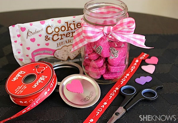 Valentine's Day mason jar essentials