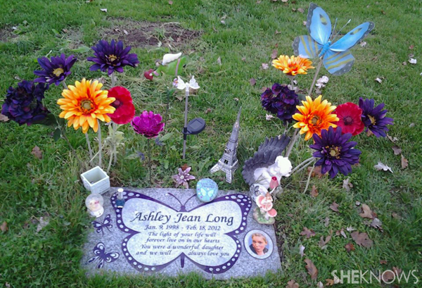 Ashley Long's gravesite