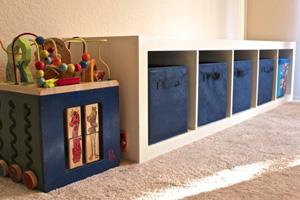 Swoon-worthy toy storage