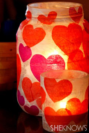 Valentine votives
