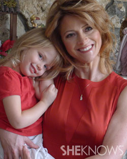 Rachel Hope and her daughter Grace