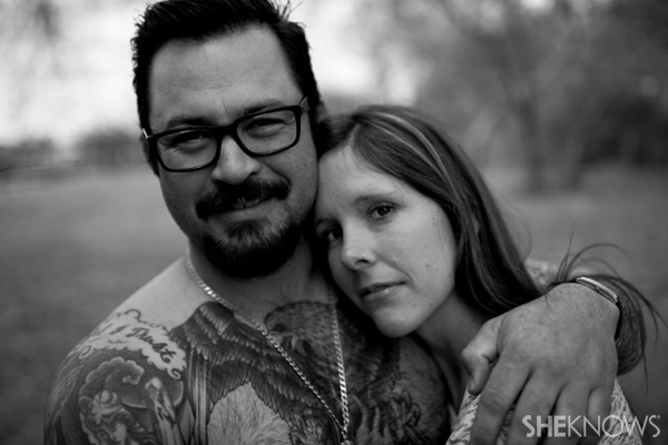 Sarah Churman and husband Sloan