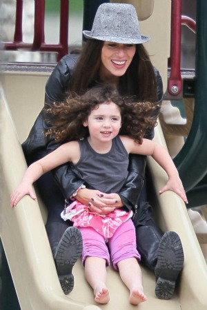 Soleil Moon Frye and her daughter Jagger