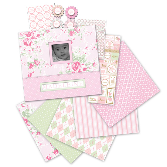 K & Company Scrapbook kit