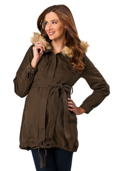 Maternity jacket from Destination Maternity