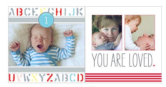Shutterfly baby book idea