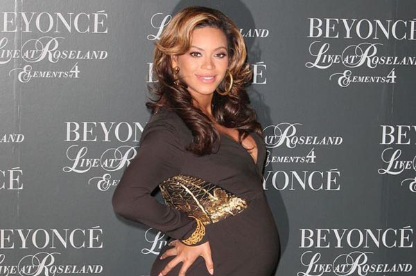 Beyonce pregnant with Blue Ivy Carter