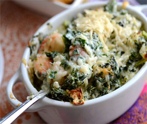 lobster kale and brie dip