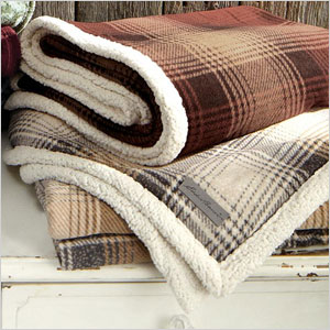 Nordic plaid blanket