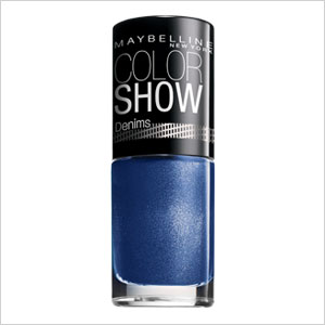 Maybelline color show blue eyeshadow