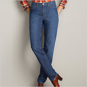 Eddie Bauer blue jeans