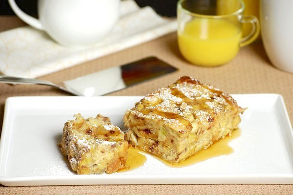 cinnamon banana french toast