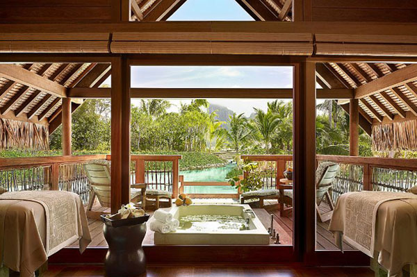 Spa at four seasons resort bora bora