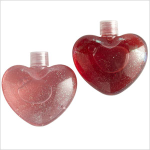 Pier 1 Imports Heart-Shaped Glitter Bubble Bath