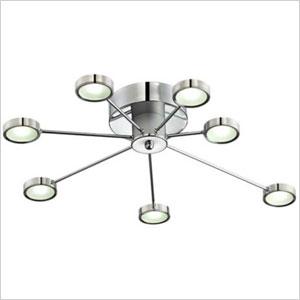 retro circle light fixture