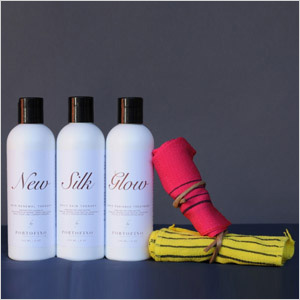 Portofino new silk glow gift set
