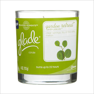 Glade garden retreat candle