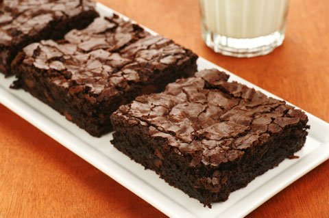 Fudge mocha brownies