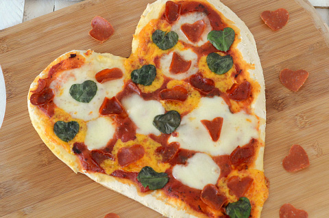 valentine's day heart pizza, Ideas