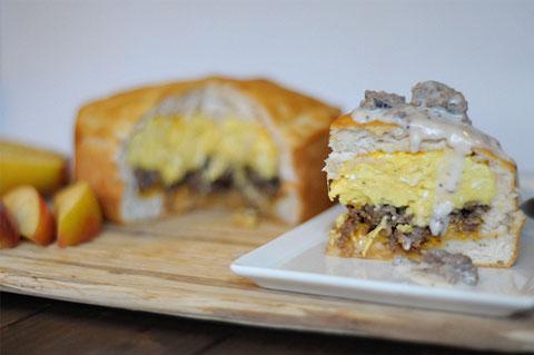 breakfast biscuit pie recipe