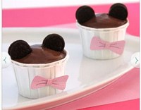 Minnie Mouse Birthday cupcake