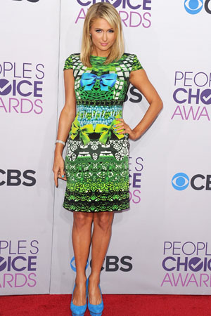 Paris Hilton at the People's Choice Awards
