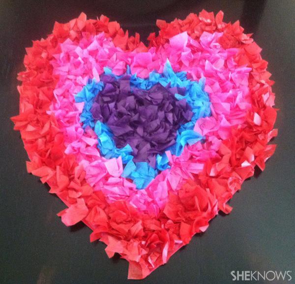 Puff heart