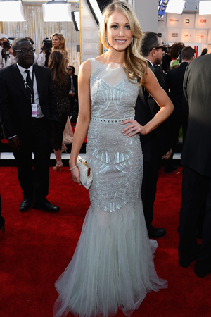 Katrina Bowden at the 2013 SAG Awards