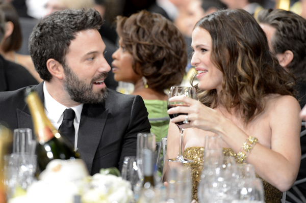 Ben AFfleck and Jennifer Garner at the 2013 SAG Awards