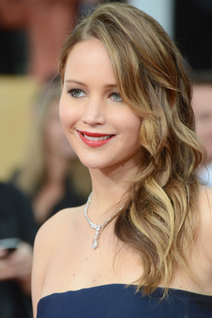 Jennifer Lawrence at the 2013 SAG awards