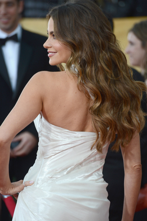 Sofia Vergara at the 2013 SAG Awards