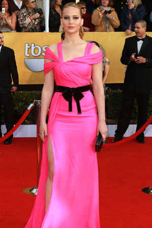 SAG Awards worst dressed Jennifer Lawrence