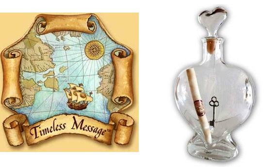 Timeless Message in a Bottle