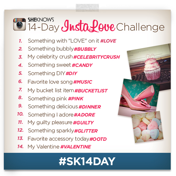 14-Day InstaLove Challenge - SheKnows Instagram Photo Challenge