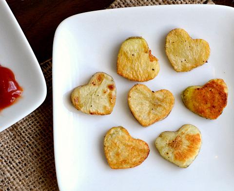 potato cutouts