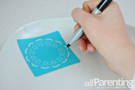 Sharpie Dinnerware step 3