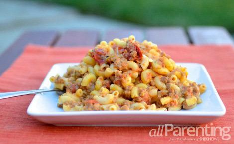 Macaroni and CHeeseburger