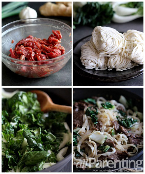 Chinese noodles prep