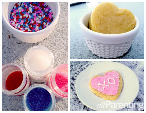 cookie decorating party collage