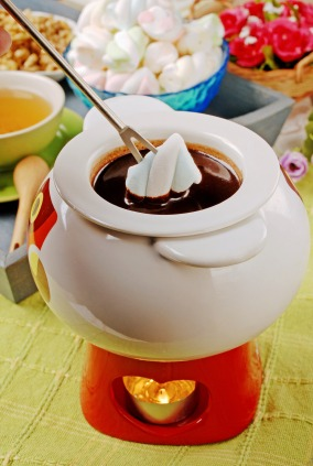 family fondue pot