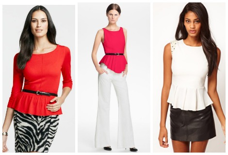 Peplum tops: Why every mom needs one