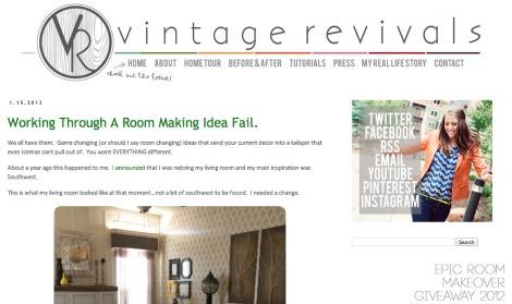 Vintage revivals screenshot
